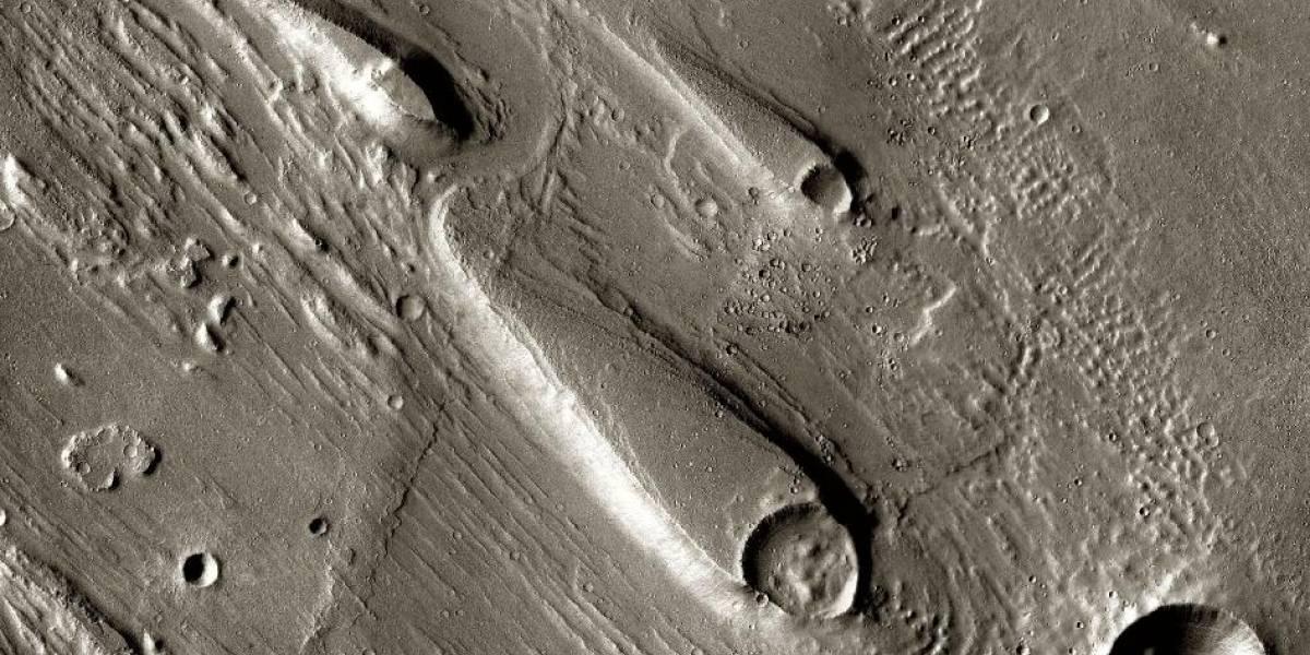 Orbitador Mars Odyssey marca un récord de permanencia en Marte