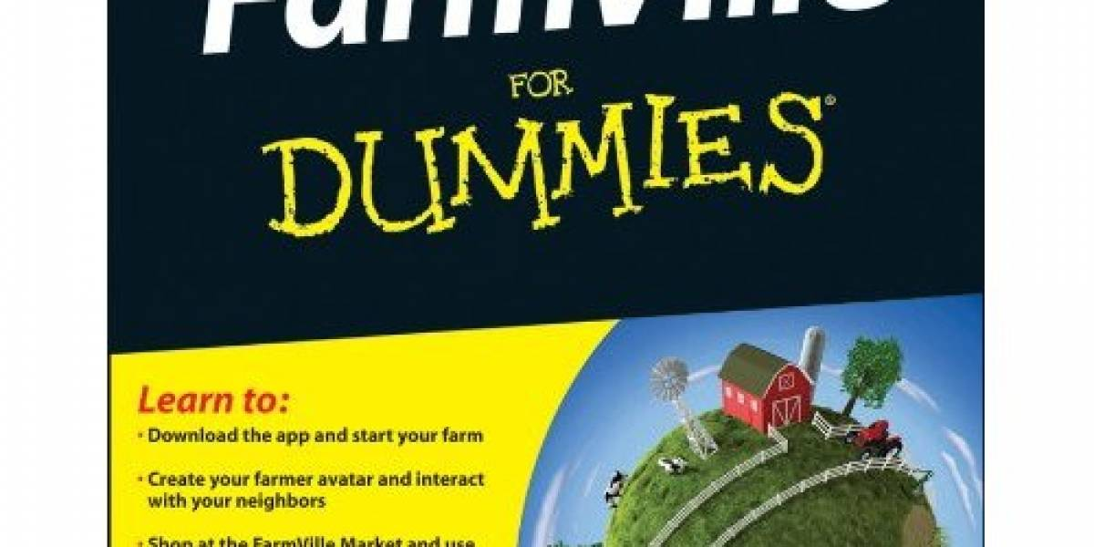 "Ya puedes pre-ordenar ""FarmVille for dummies"" y no, no es broma"