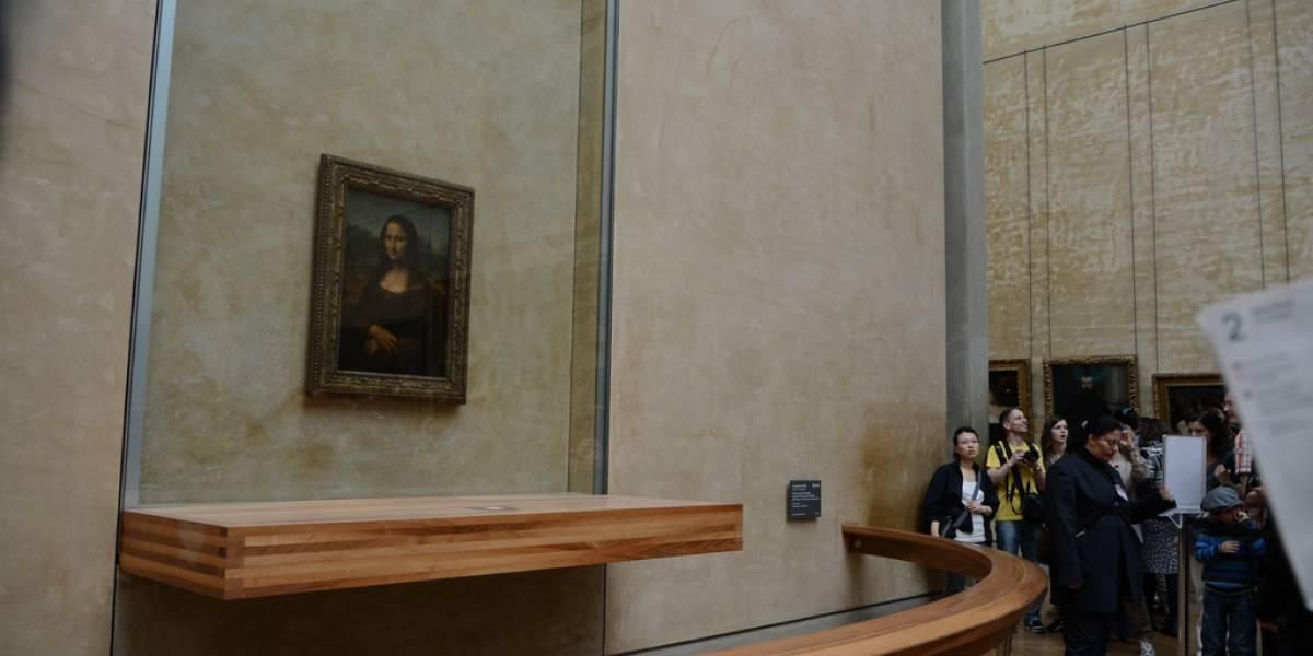La Mona Lisa está iluminada por LED