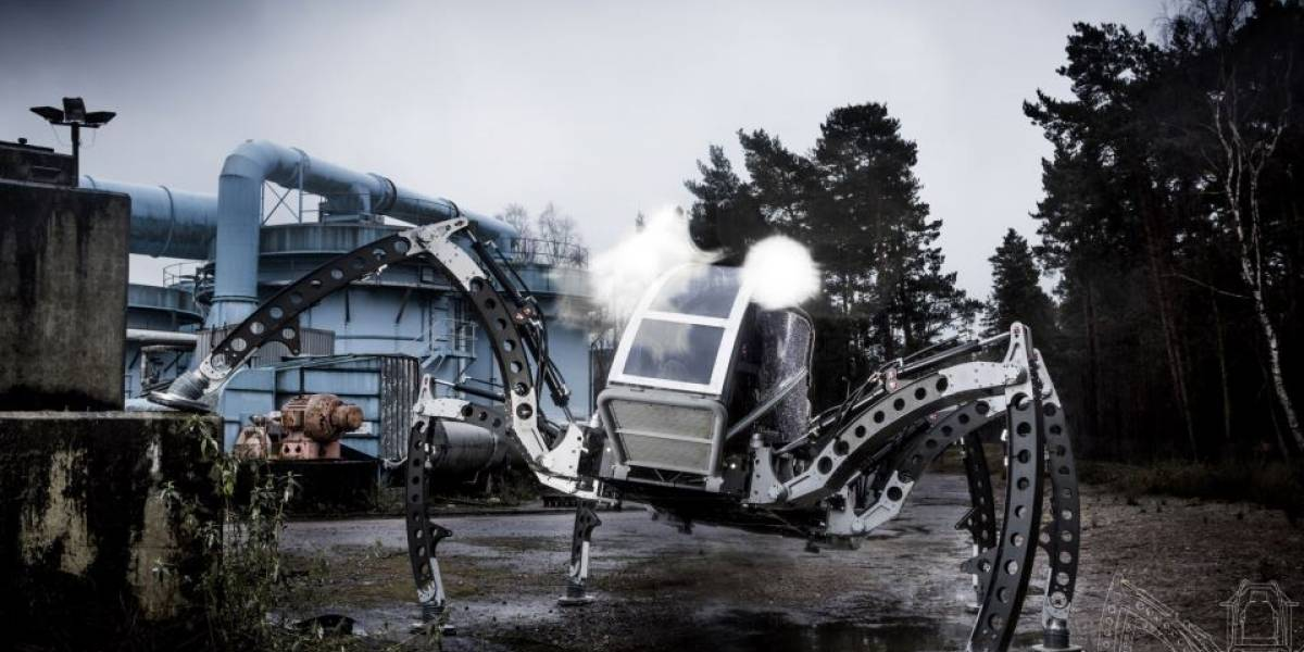 Mantis: Un robot hexápodo controlado (por ahora) por un humano