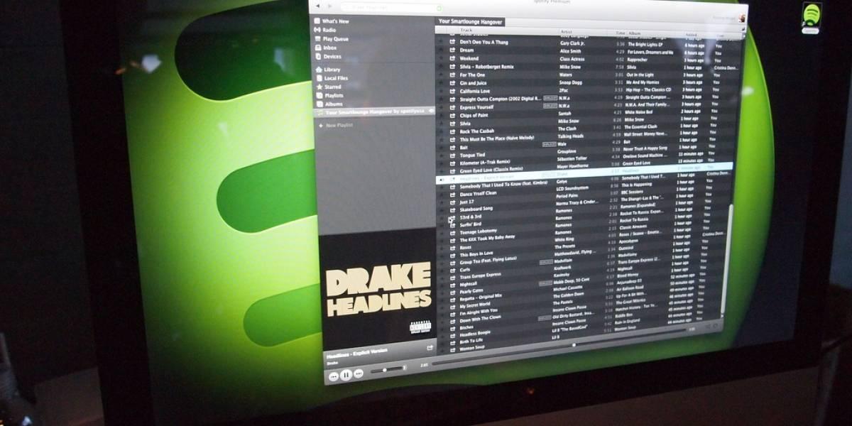 Spotify podría integrar videos en su servicio