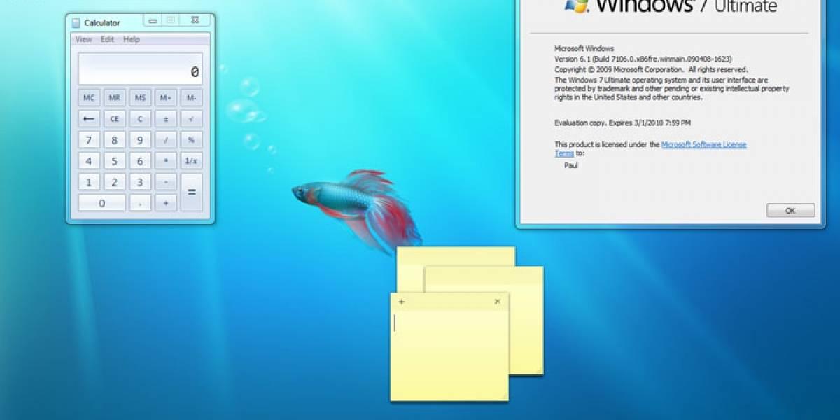 Futurología: Windows 7 tendrá una nueva interfaz de usuario
