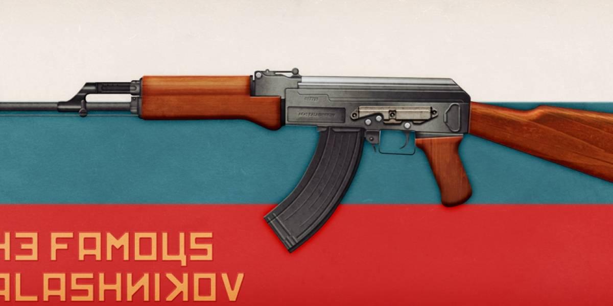 Murió Mijaíl Kaláshnikov, el padre del fusil AK-47