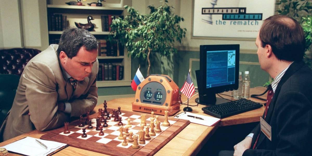Un error de computadora ayudó que Deep Blue derrotara a Kasparov