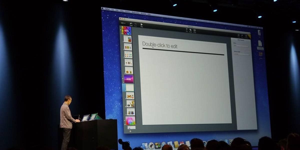 iWork ahora te permitirá editar documentos en tiempo real a través del navegador #WWDC13