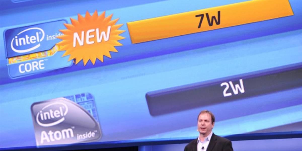 CES 2013: Intel presenta procesadores Core de muy, pero muy bajo consumo energético