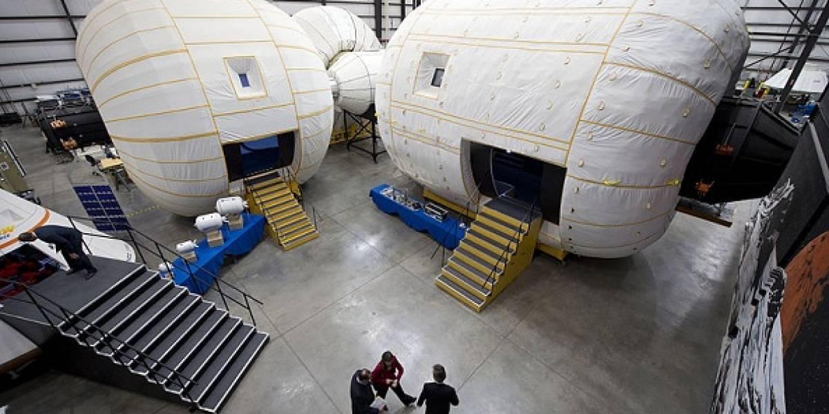 La NASA paga US$17.8 millones por un globo inflable para ampliar la Estación Espacial Internacional