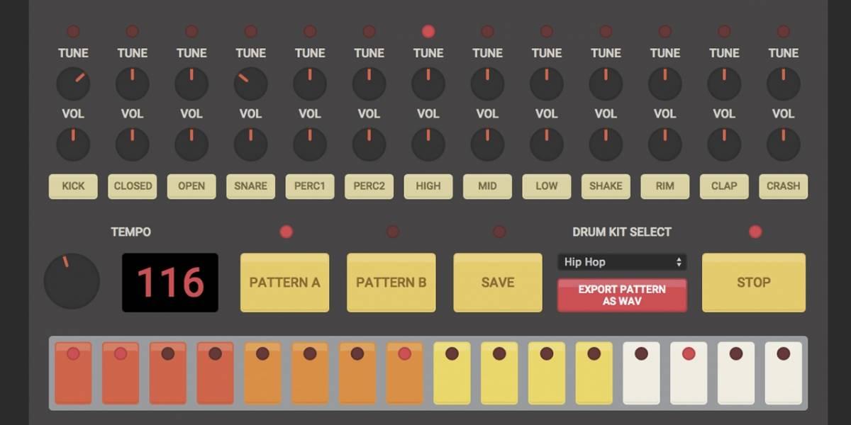 Cajas de ritmos clásicas de Roland y Elektron llegan al navegador web