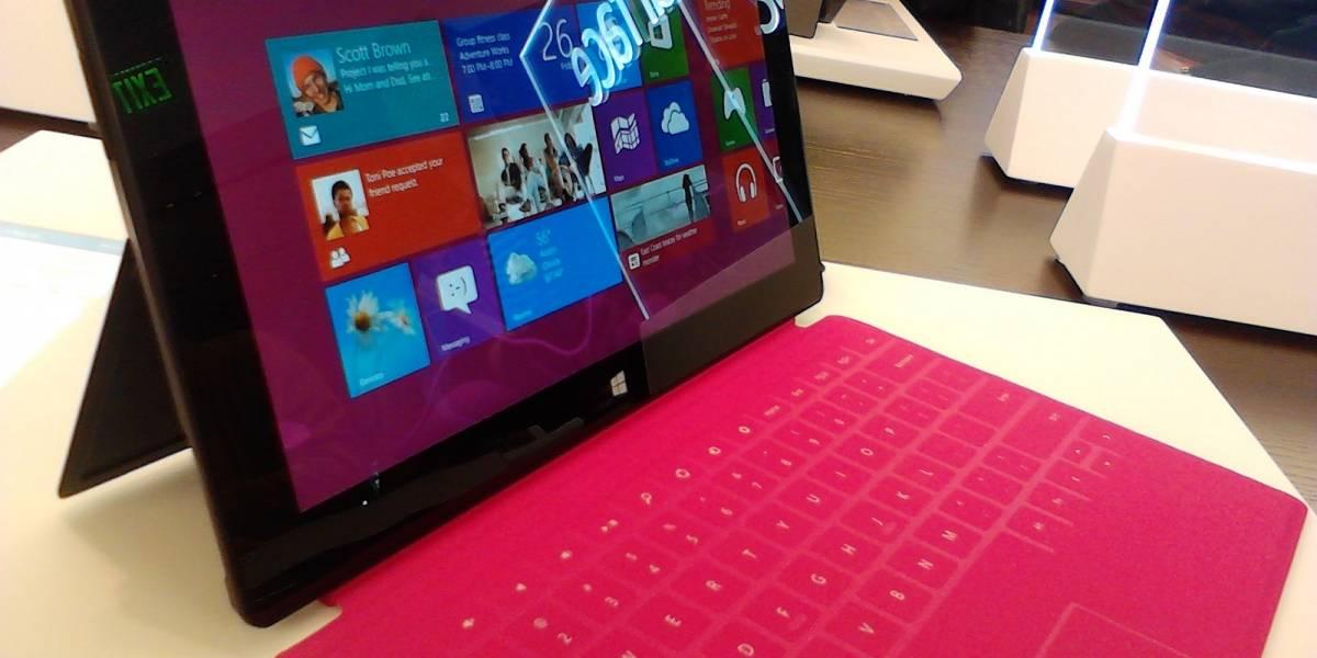 Microsoft redujo en USD$ 100 el precio del primer Surface Pro
