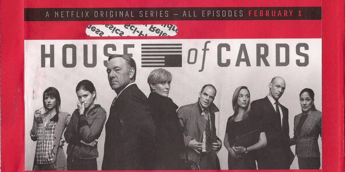 Resultados financieros de Netflix muestran éxito de 'House of Cards'