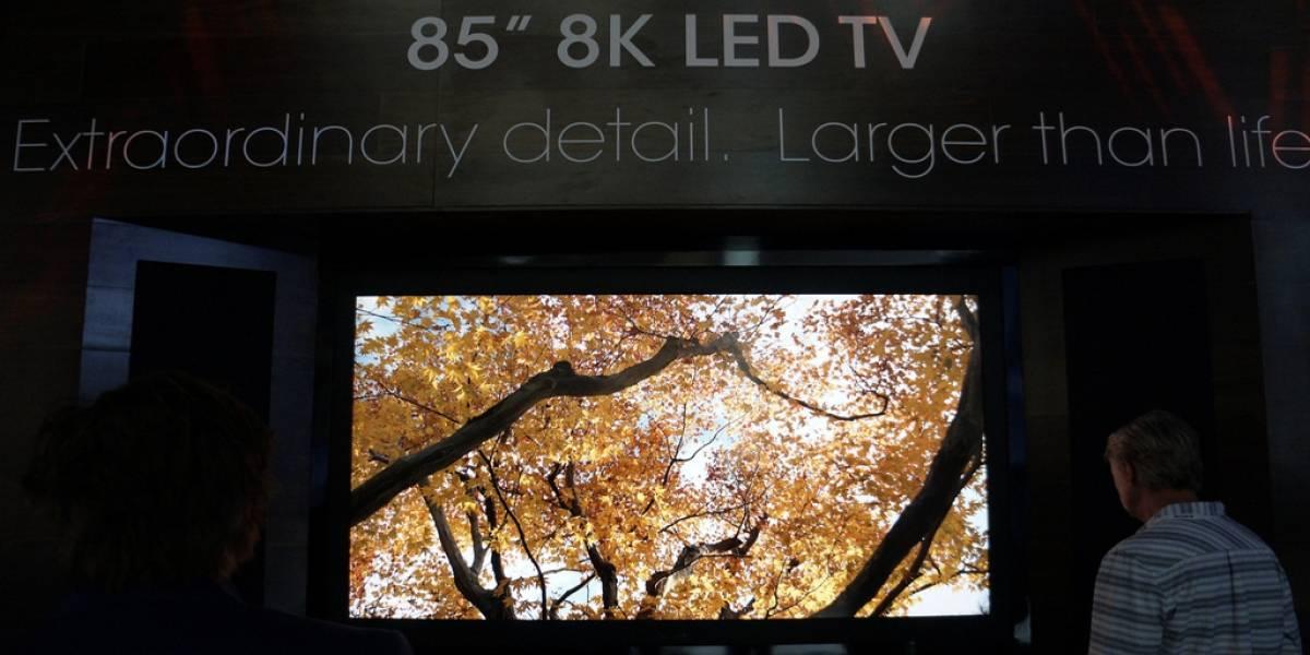 Realizan la primera transmisión a 8K en Japón