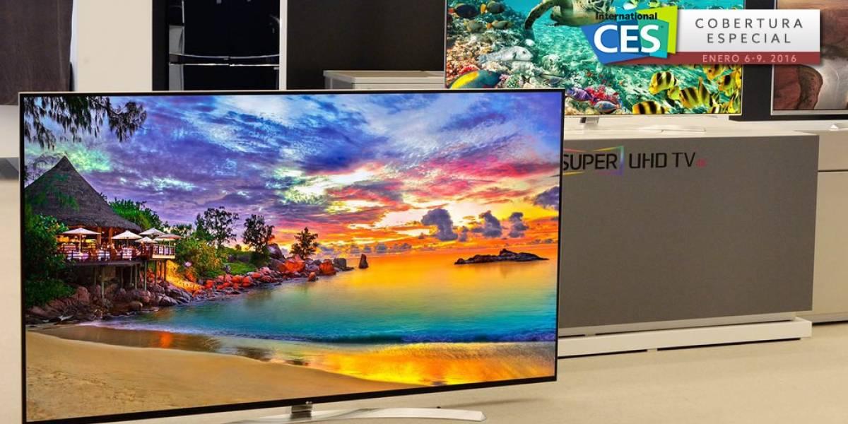 LG anunció una TV 8K de 98 pulgadas en #CES2016