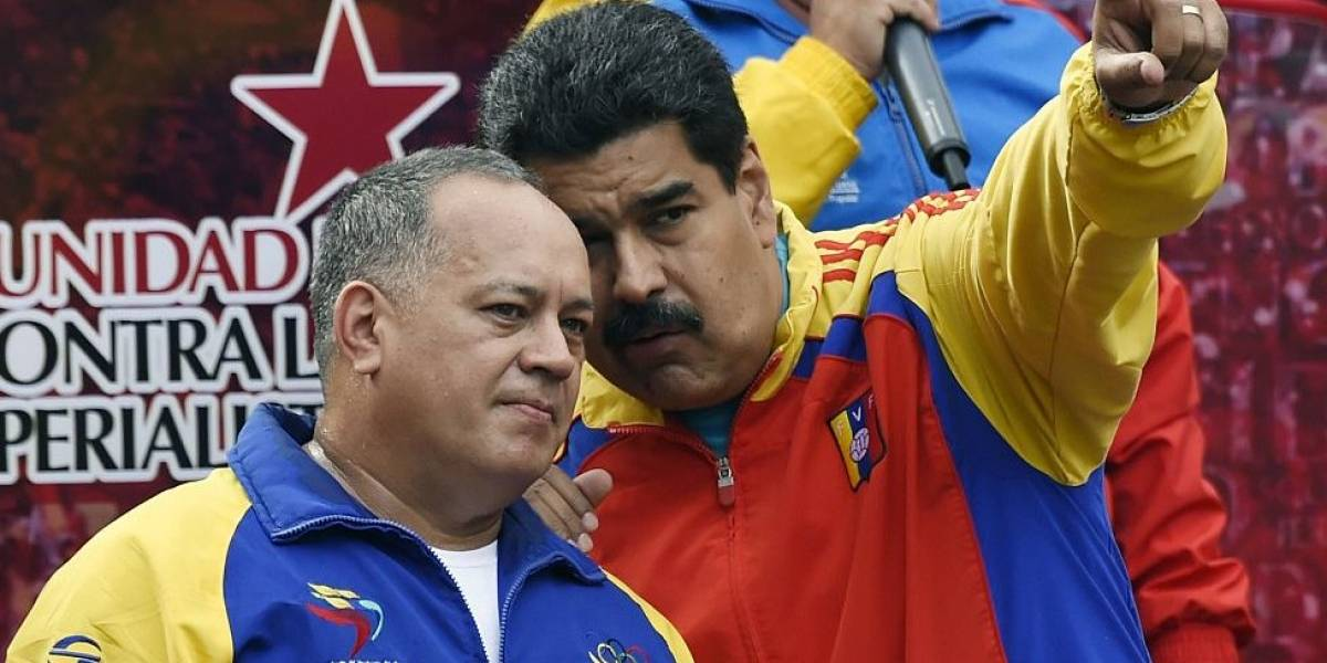 "Ataque a militares venezolanos ""viene de Colombia"", dice Diosdado Cabello"