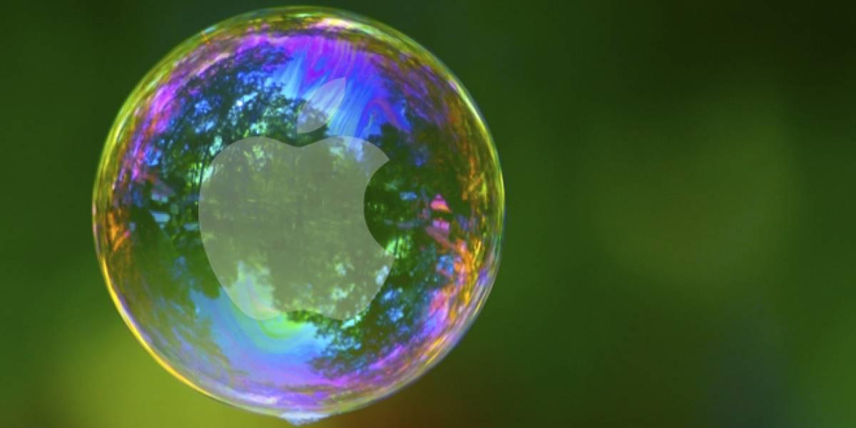 """Especialistas creen que la economía de Apple es """"una burbuja"""""""