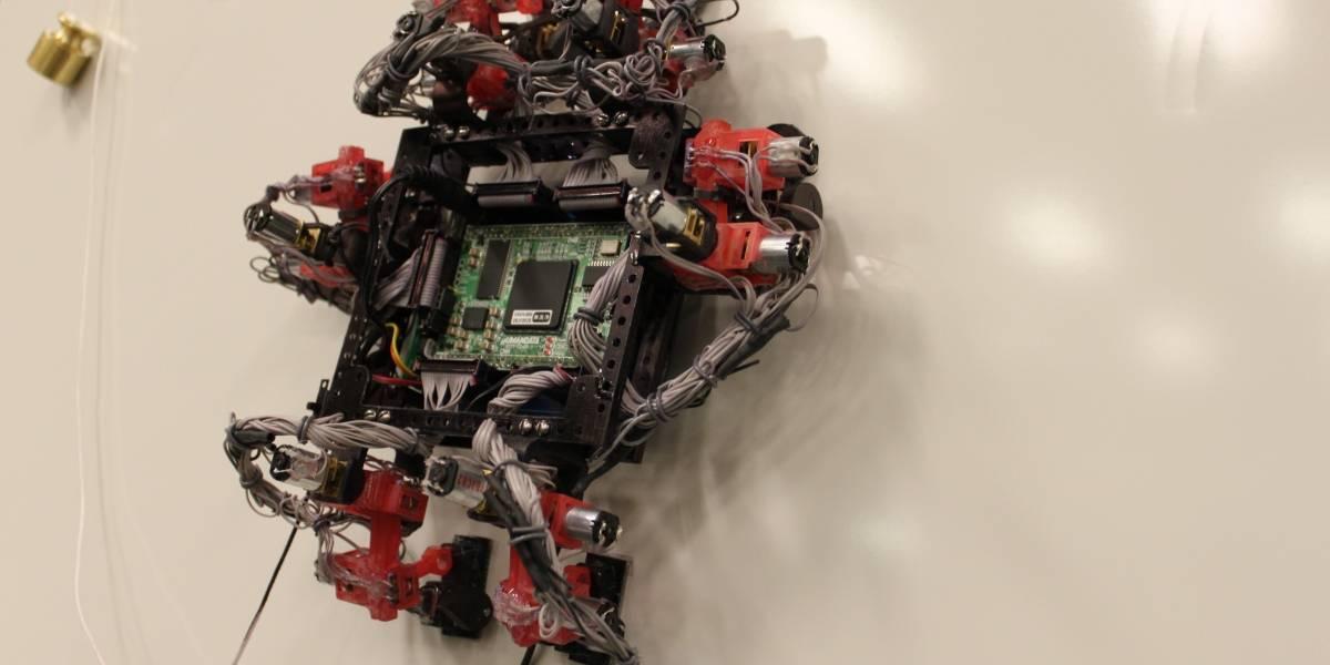 Robot lagartija podría reparar naves en el espacio