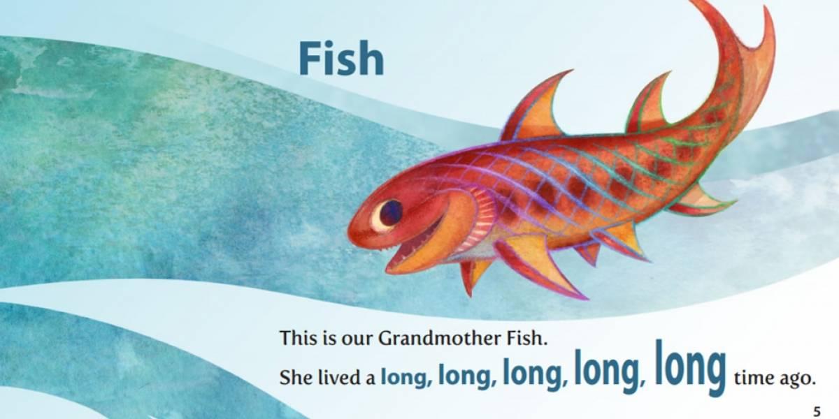Un libro para enseñarle la evolución a los niños en Kickstarter