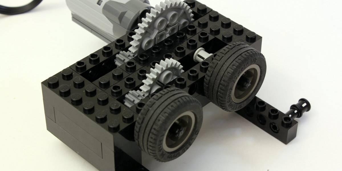 Un acelerador de partículas funcional hecho de LEGO
