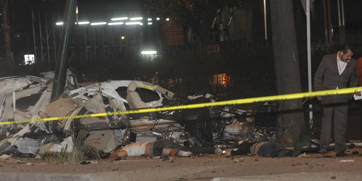 Declaran culpable a conductor de BMW que se accidentó en Reforma