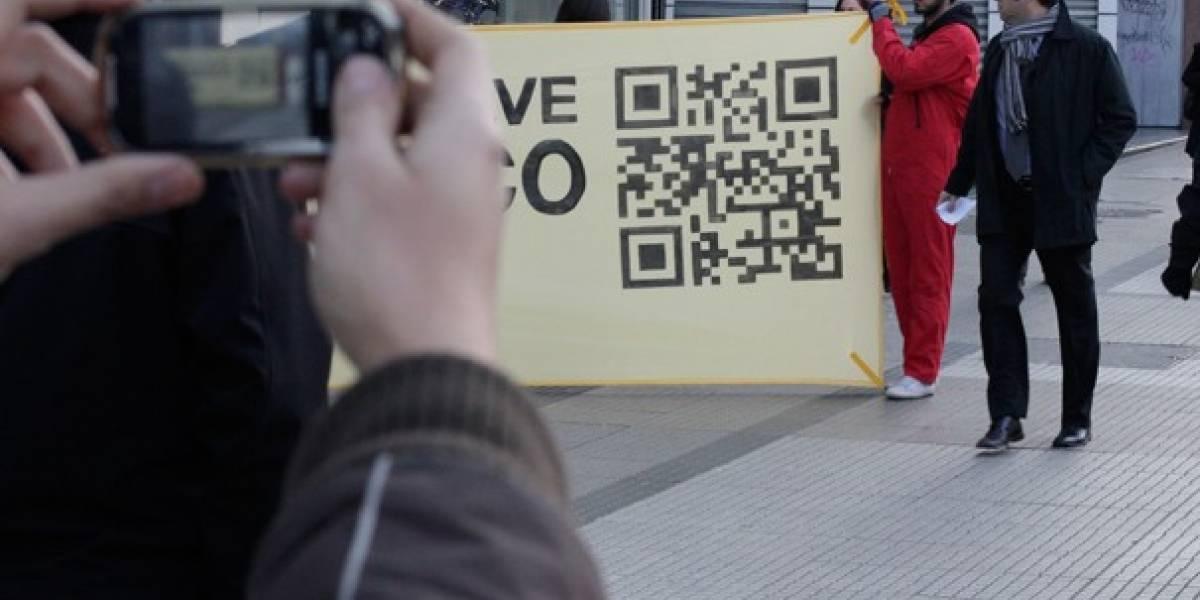 Chile: Greenpeace se apoya en códigos QR para protestar contra Isla Riesco