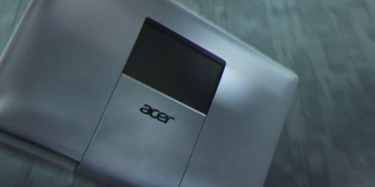 Acer presenta su próximo laptop con teaser de Star Trek