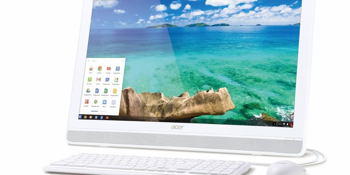 "Acer Chromebase lleva ChromeOS a los ""todo en uno"""