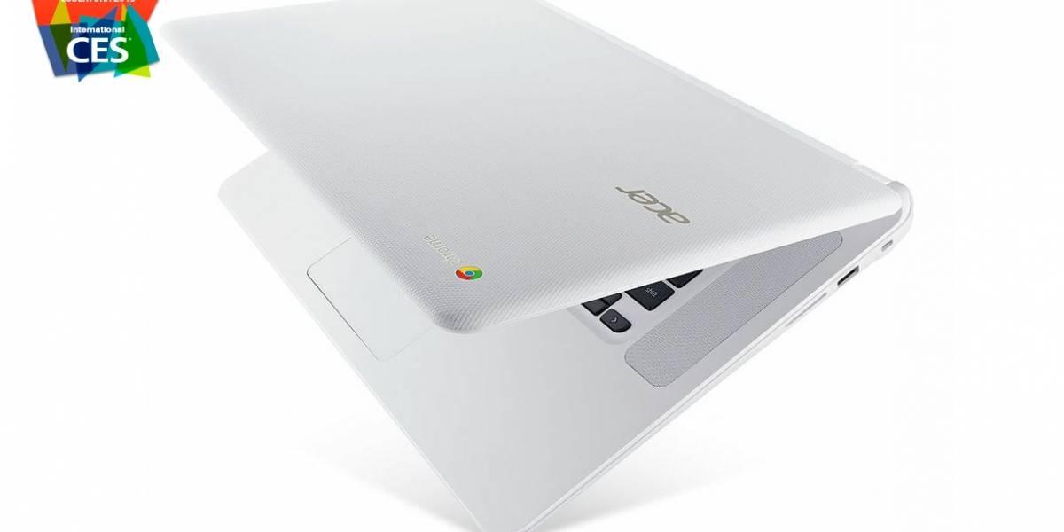 Acer Chromebook 15 es el más grande de los Chromebook #CES2015
