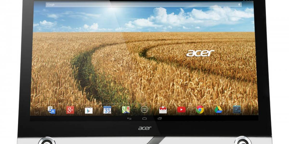 Acer anuncia un all-in-one con Android para #CES2014