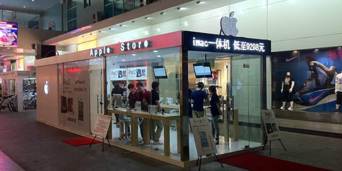 Apple denuncia a sus tiendas falsas