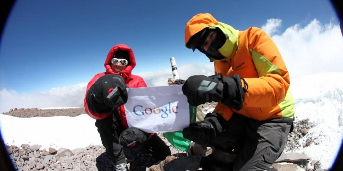 Ahora se puede usar Google Street View para visitar el monte Everest y el Aconcagua