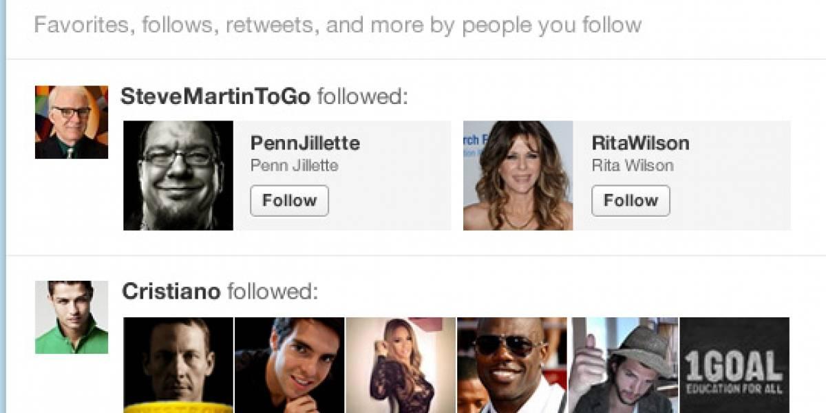 Twitter hace más cambios para ordenar mejor la información