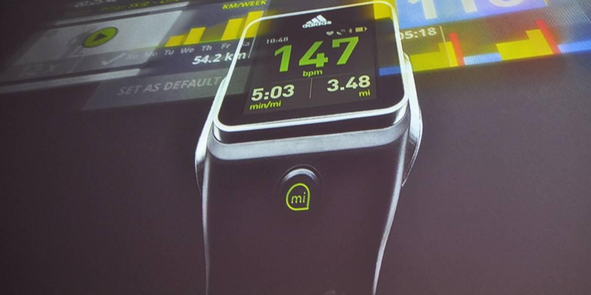 Adidas anuncia un reloj inteligente