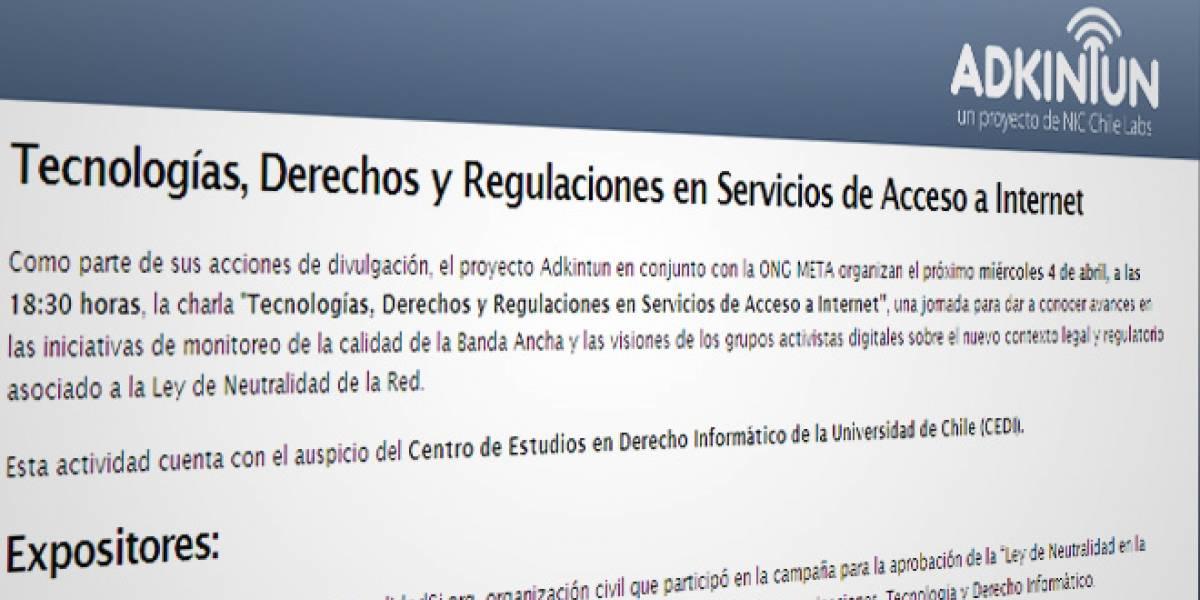 Chile: Sigue en vivo la charla sobre banda ancha de NIC a través de streaming