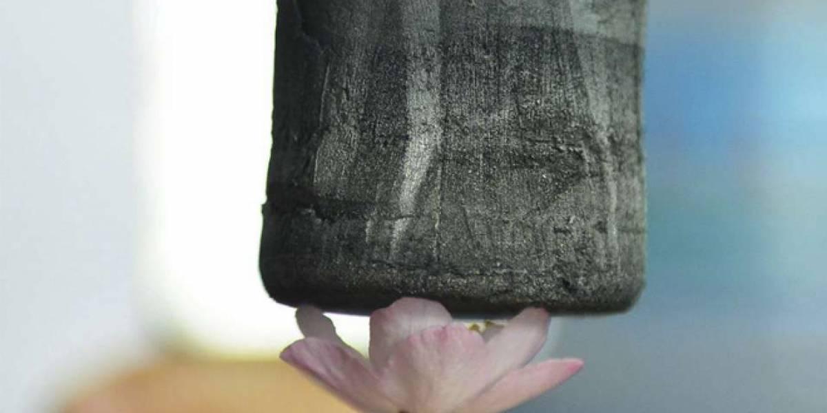 Crean el material más liviano del mundo a partir de grafeno
