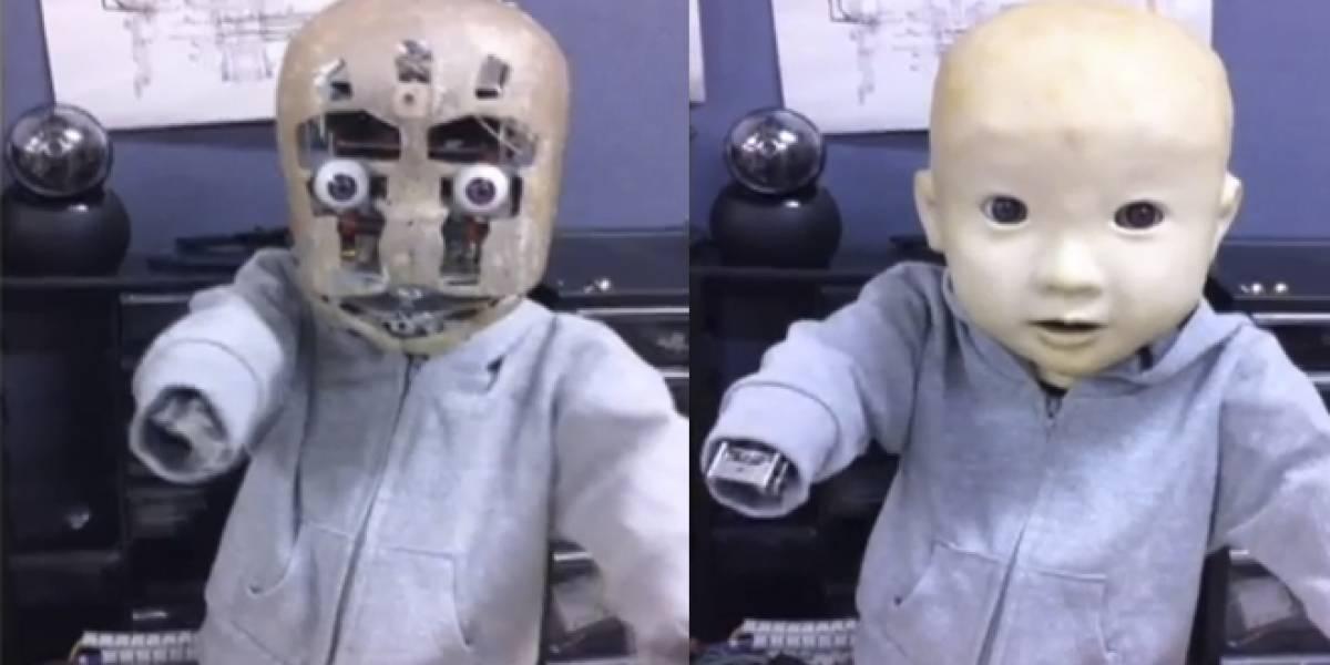 Reaparece uno de los robots más tétricos que hemos visto