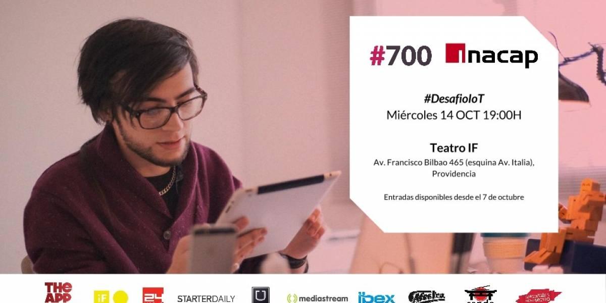 """#700 presenta: """"Desafío IoT"""""""