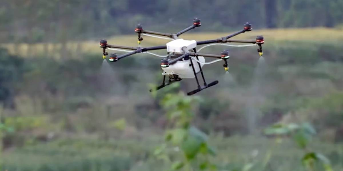 El nuevo dron de DJI está dirigido a la industria agrícola