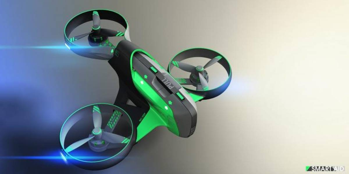 Smart AID, el Drone con ayuda médica