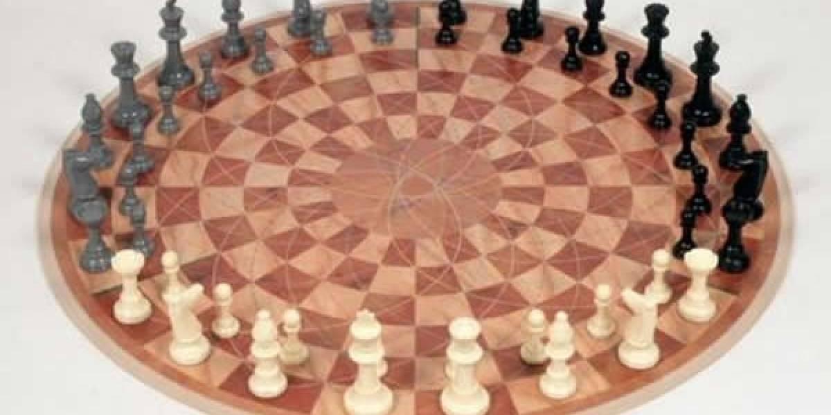 Alguien hizo realidad el ajedrez para tres personas de Sheldon Cooper