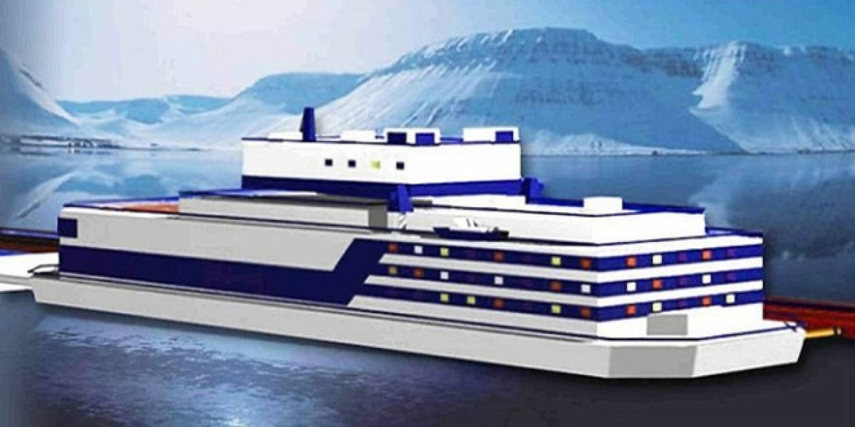 La primera planta nuclear flotante de Rusia podria estar operativa en 2016
