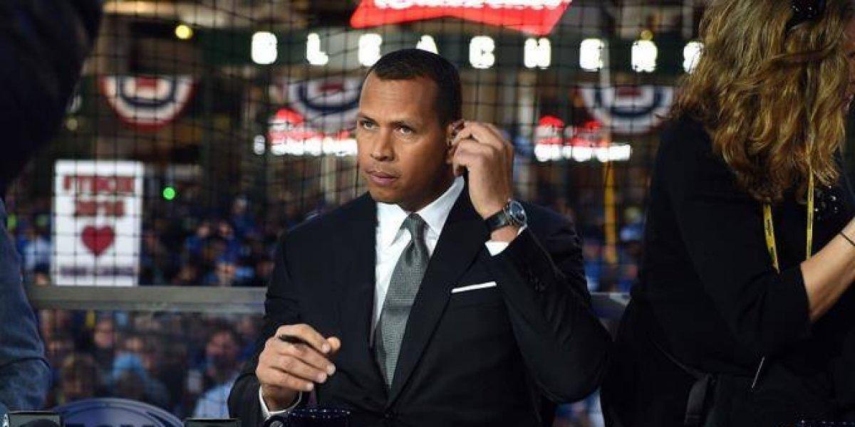 Alex Rodríguez comentará los juegos de domingos ESPN