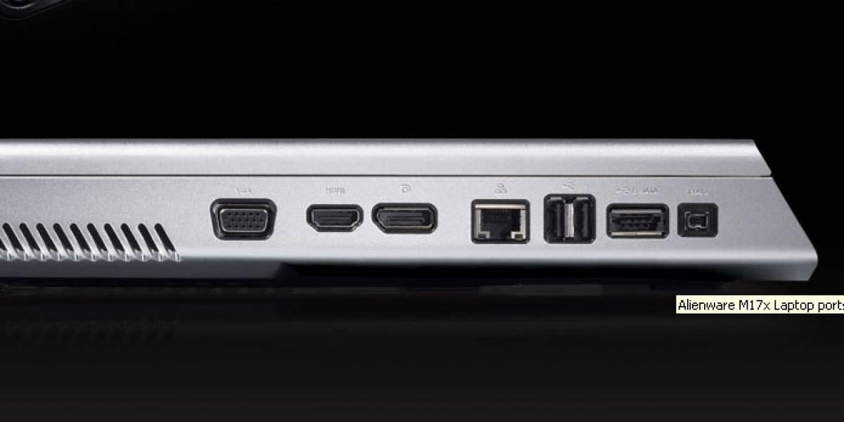 Alienware M17X: Todo el poder por USD$5,599