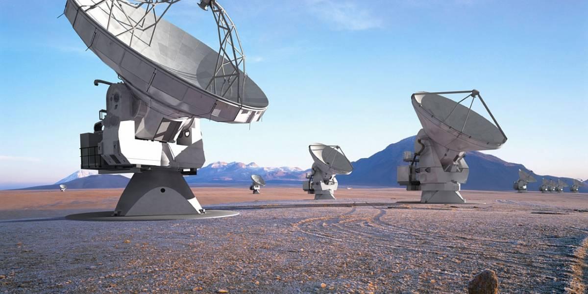 Sigue en vivo la inauguración del radiotelescopio ALMA