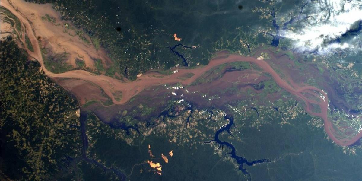 Imperdible: mapa recopila fotografías tomadas desde la Estación Espacial Internacional