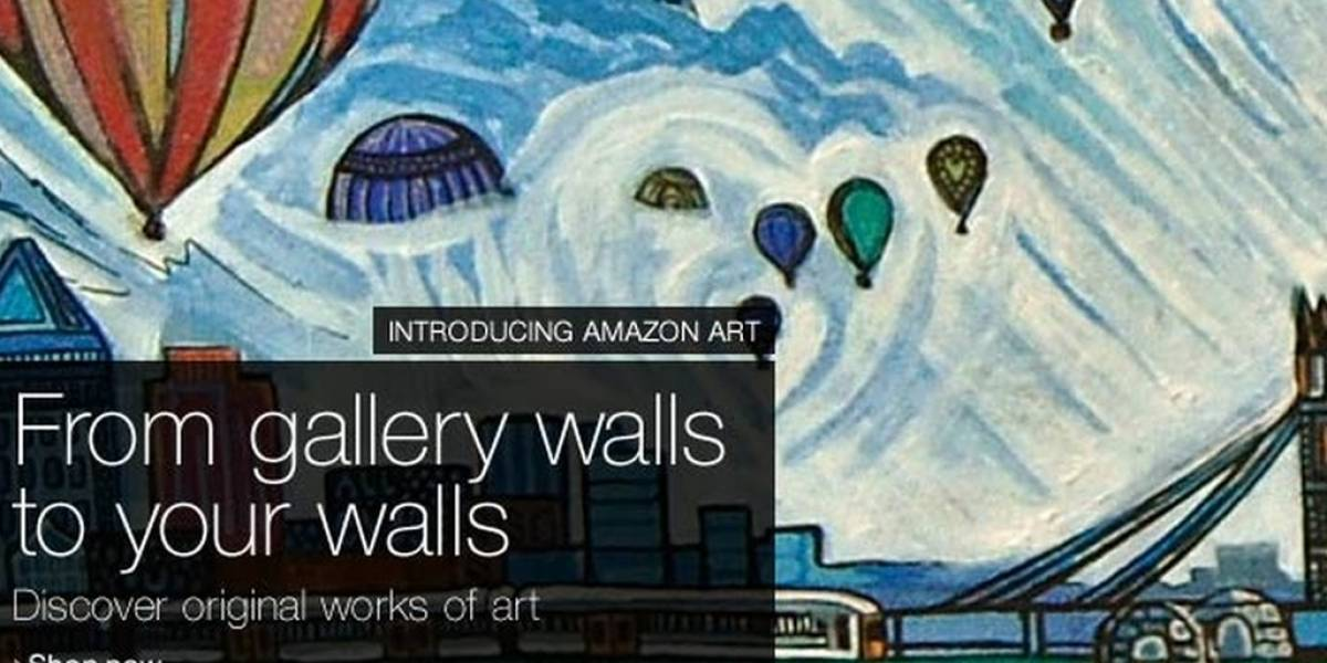 Amazon venderá obras de arte en su nueva sección Amazon Art
