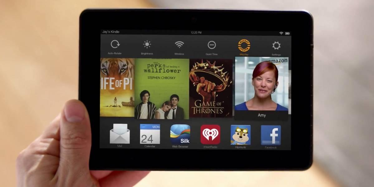 Amazon Mayday, servicio técnico 24/7 vía videoconferencia