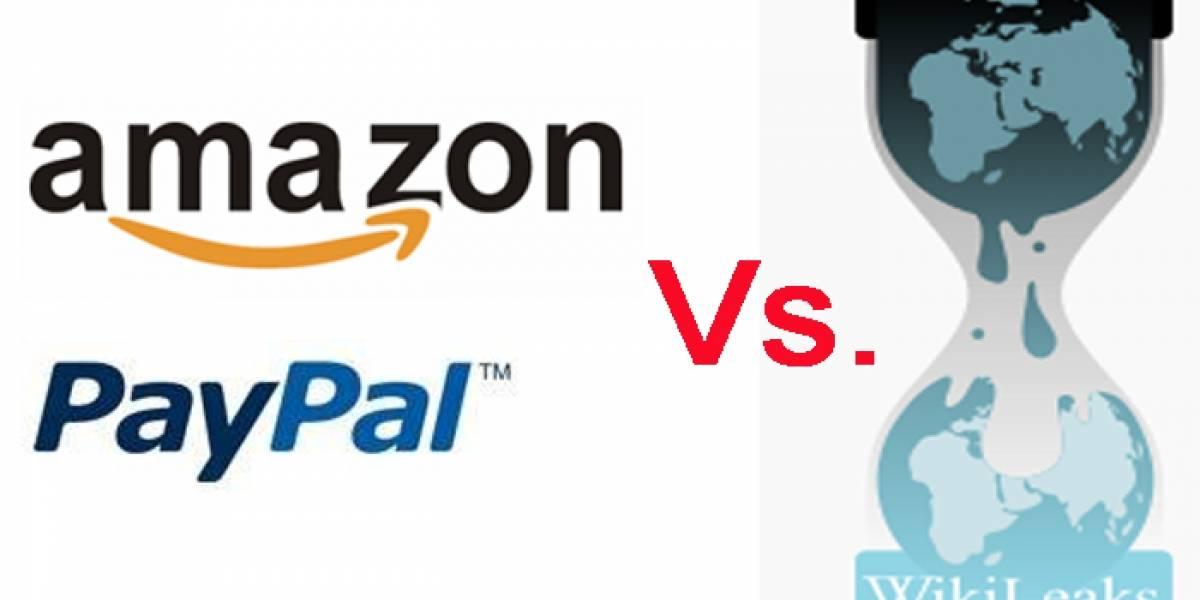 Convocan boicot contra Paypal y Amazon por darle la espalda a Wikileaks