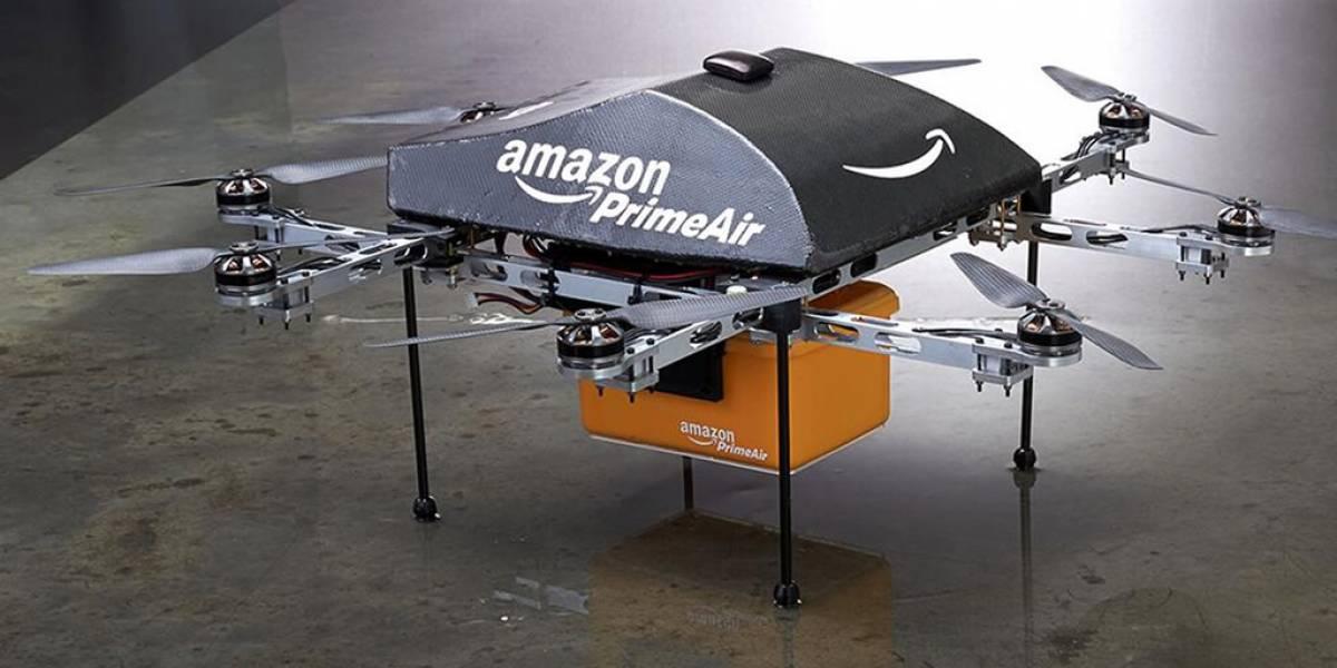 Amazon llevaría su desarrollo de drones fuera de EE.UU.