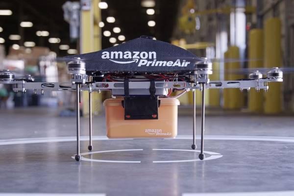 Amazon va en serio con sus drones repartidores