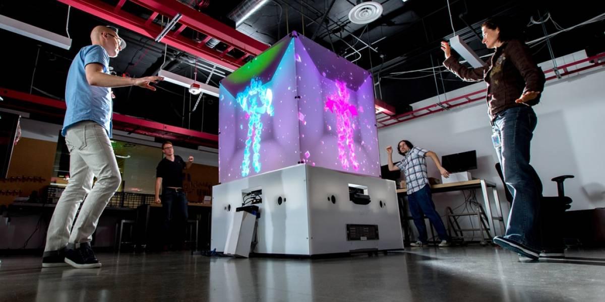 Este cubo potenciado con Kinect cruza tecnología y arte, según Microsoft