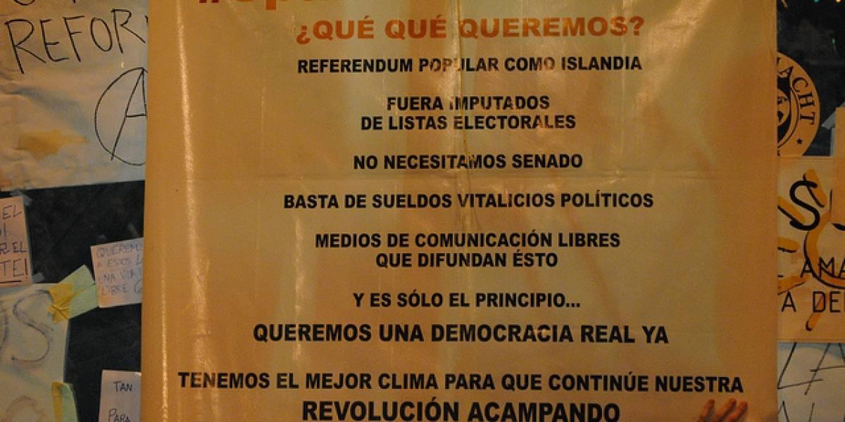 España: #spanishrevolution se adueña de la Red (y de la calle)